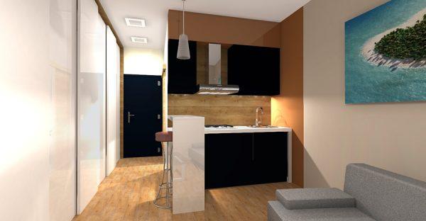 Interiér kuchyne